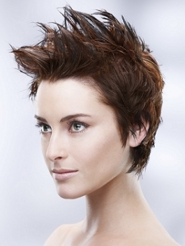 Layered Pixie Hairstyle