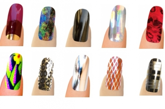 Read more: Cool Minx Nail Art Designs / Hands and Nails