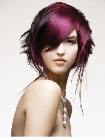 crazy hair color ideas for long hair. hair coloring adventure.