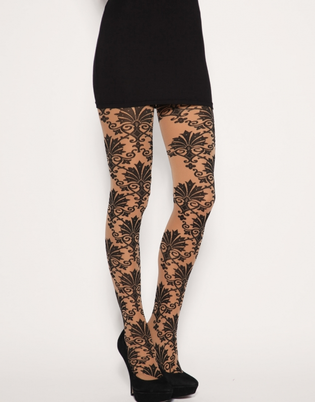 funny and with-an-attitude tattoo tights (in a color variety to match