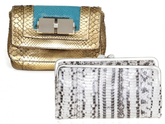 Anya Hindmarch Spring 2011 Clutch Bags