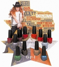 OPI Spring 2011 Texas Nail Polish Collection