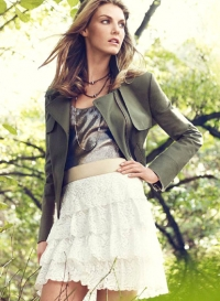 Angela Lindvall for Ann Taylor Spring 2011 Lookbook
