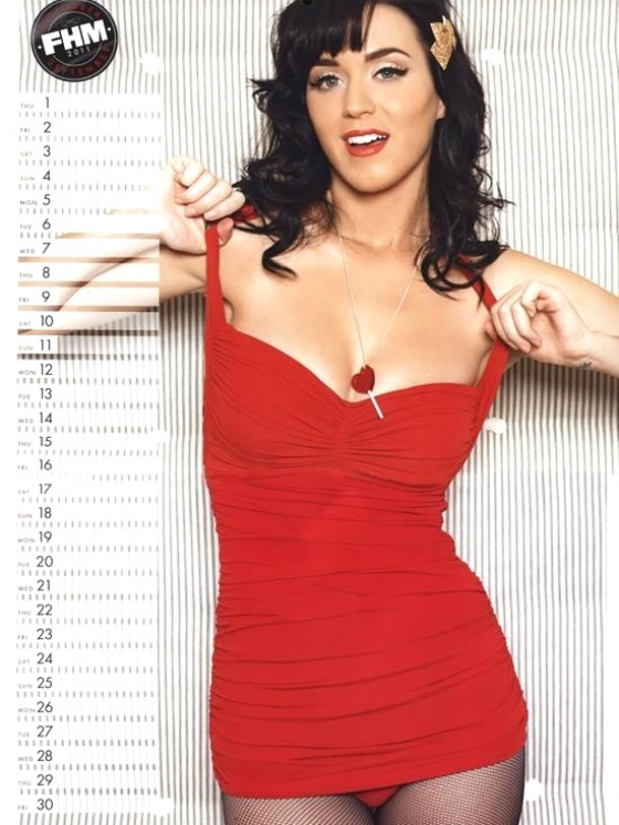 Katy Perry FHM 2011 Calendar
