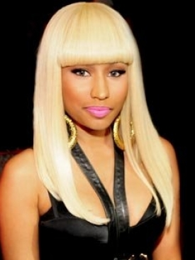 Nicki Minaj Hairstyle Platinum Blonde