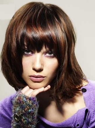 layered hairstyles for medium hair. Glam Layered Hair Styles 2010