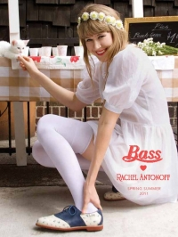 Bass Loves Rachel Antonoff Spring/Summer 2011 Shoes