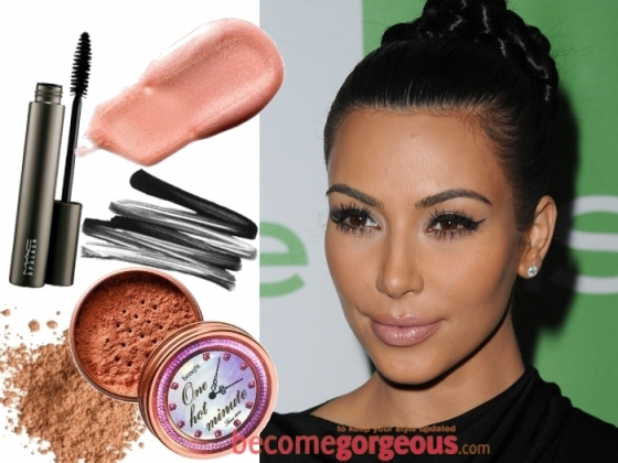 Kim Kardashian Makeup Celebrity Inspired