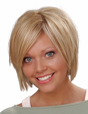 The classic bob hairstyle should be created on straight hair so thecut ...
