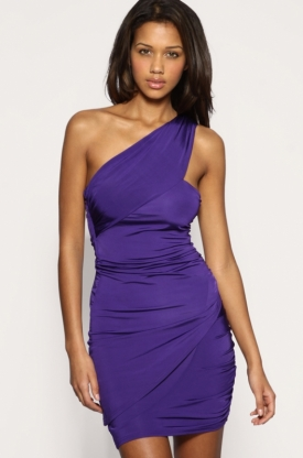 Sexy One Shoulder Dress