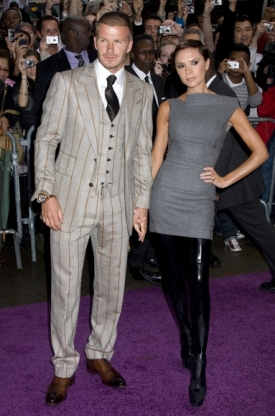 Victoria Beckham and husband David Beckham