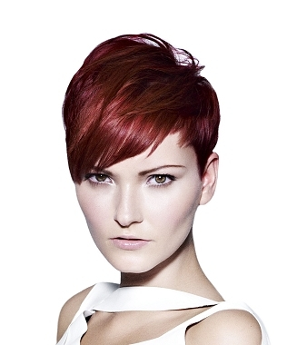 The winter 2011short hair styles range from the stylish graduated to the