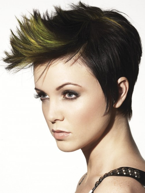Two Toned Layered Hairstyles