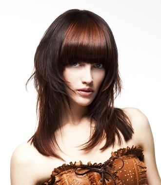 two toned hairstyles. Tags: two toned layered hairstyles, two toned hairstyles, colored layered