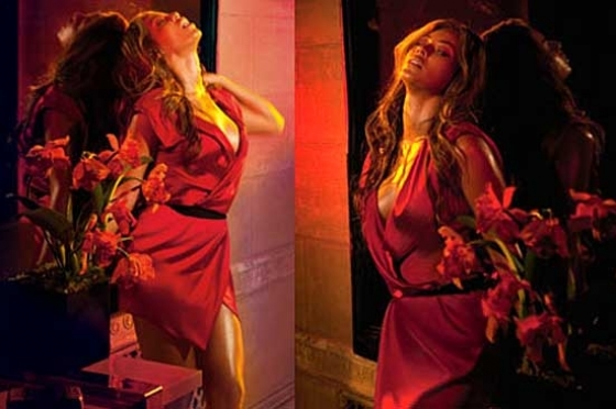 Beyonce Heat Fragrnace Ad