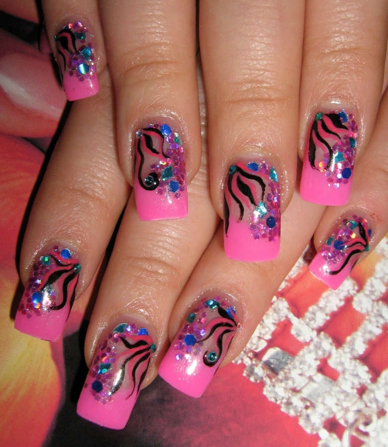Nail Art Ideas: Simple Party Nail Designs