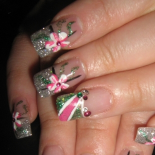 simple party nail designs