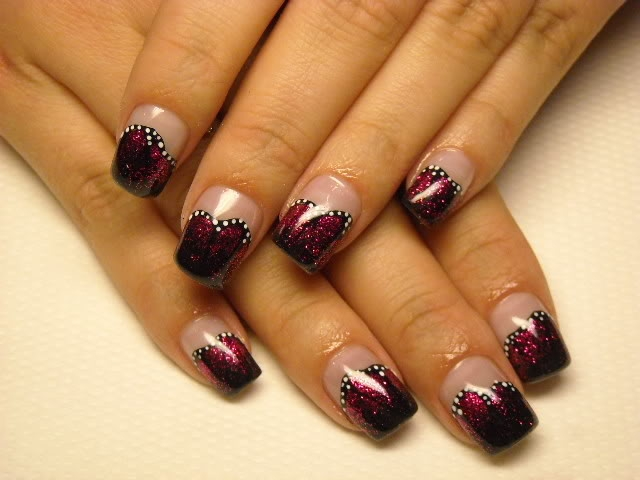 Holiday Acrylic Nail Designs