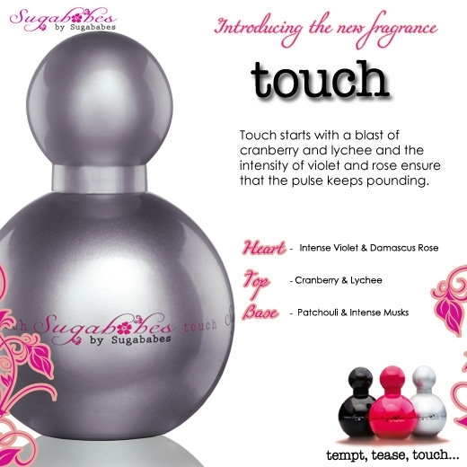 Sugababes Touch Fragrance