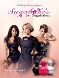 Sugababes Tempt, Tease and Touch Fragrances