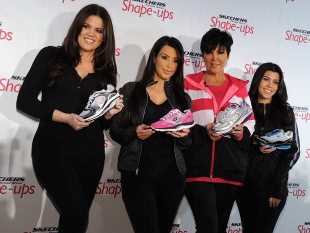 Kardashians for Skechers Shape Up Shoes