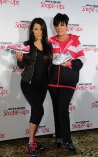 Kim Kardashian and Kris Jenner Partner Up with Skechers