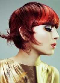 Dapper Emo Hair Color Ideas