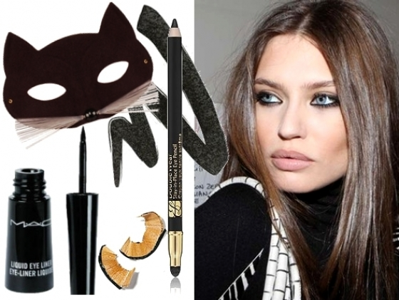 Cat Eyes Makeup 2011 Winter Trends