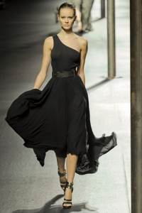 One Shoulder Dresses for Spring 2011
