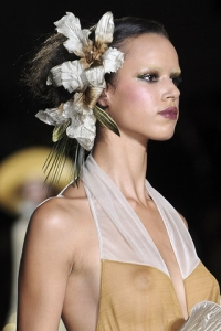 Spring 2011 Runway Hair Accessories