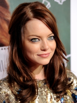 Emma Stone Red Hair Color 2010