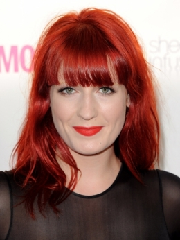 Florence Welch 2010 Red Hair Color