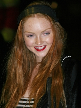 Lily Cole Red Hair Color 2010