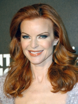 Marcia Cross Red Hair Color 2010
