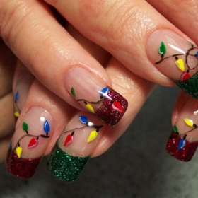 Christmas Nail Design Ideas #2: christmas nail art3 thumb