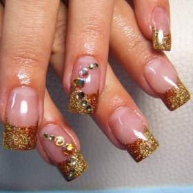 christmas nail art designs-14