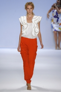 Spring Summer 2011 Fashion Trends - Ruffles