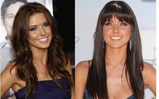One of the most popular hair style chameleons of our times, Audrina Patridge is eager to experiment both with her hair styles and cuts as well as hair color. In the case of the blunt bangs she decided to switch things up a bit and break with the monotony of long and blocky locks. Instead of making a more dramatic change she opted for these key accessories of all seasons, the stylish bangs which bring out both the super-healthy complexion of her tresses as well as fab hair texture. <br /><br />