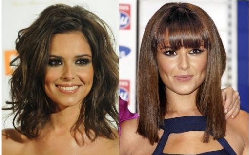 The pop diva as well as successful TV host, Cheryl Cole decided to break the habit of wearing her long or midi locks curly or super-sleek and instead crowned her dapper appearance with this cool detail. Thick and blunt bangs might seem a pretty radical twist in her look as a similar flair could also visually change the whole structure of her face. Depending on your hair texture as well as face shape pick the right bangs designs that flatter your features and help you achieve the desired impression.<br /><br />