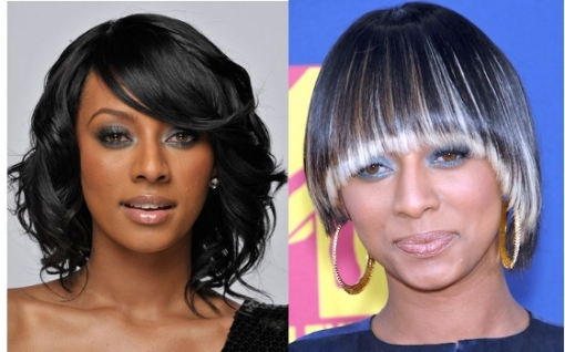 The young diva managed to earn the title for the ultimate hair style icon with her versatile and fascinating hair styles she flaunts on her red carpet and stage appearances. Indeed Keri Hilson is both a wizard of shades as well as haircuts and choose the designs that best suit her features and charisma. Therefore she definitely rocks both the bangs as well as no bangs look presented below. <br /><br />