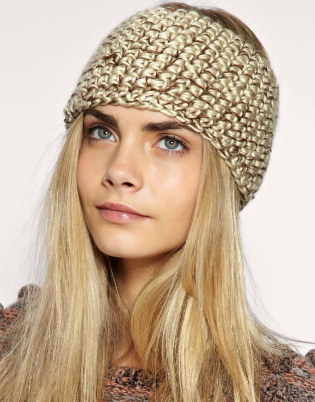 Pattern Knit Headband : Knit Headbands Winter Fashion Accessories.