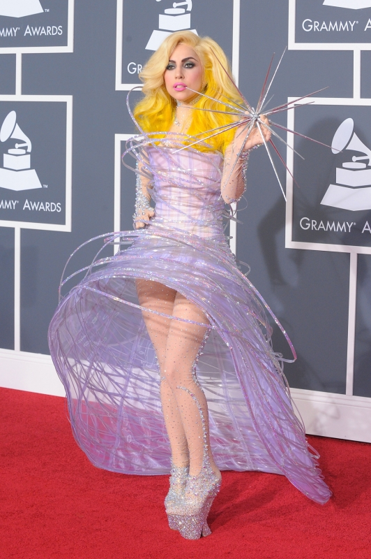 lady gaga 39 s most outrageous outfits. Black Bedroom Furniture Sets. Home Design Ideas