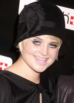 Kelly Osbourne Emo Makeup