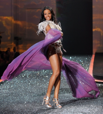 Selita Ebanks is a Caymanian model best known for her appearances on the Victoria's Secret shows. Selita Ebanks is considered to be the next Tyra Banks, so it seems we will be seeing a lot more of her.