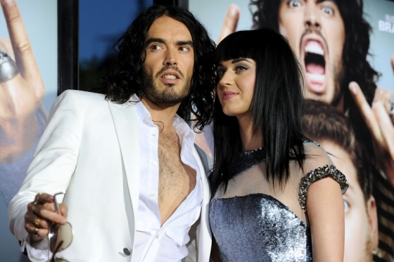Russel Brand Katy Perry Wedding