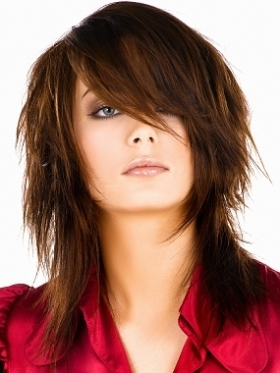 ... create an edgier hairstyle,asymmetric layers and haircuts are without