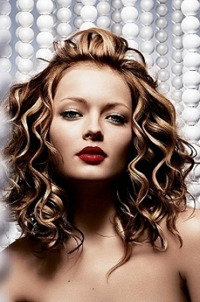 hairstyles for sweet 15 : ... hairstyles layered curly hair styles chunky layered hairstyles medium