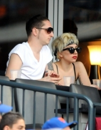 Lady Gaga and Luc Carl Commitment Ceremony