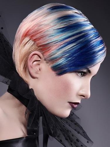 Ideas For Crazy Hair Day For Girls. crazy hair color ideas for