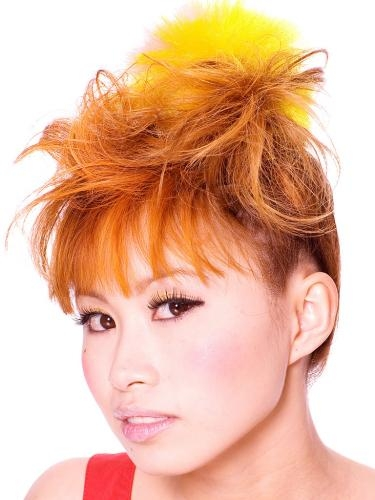 orange hair colour. Vampy Hair Color Ideas For